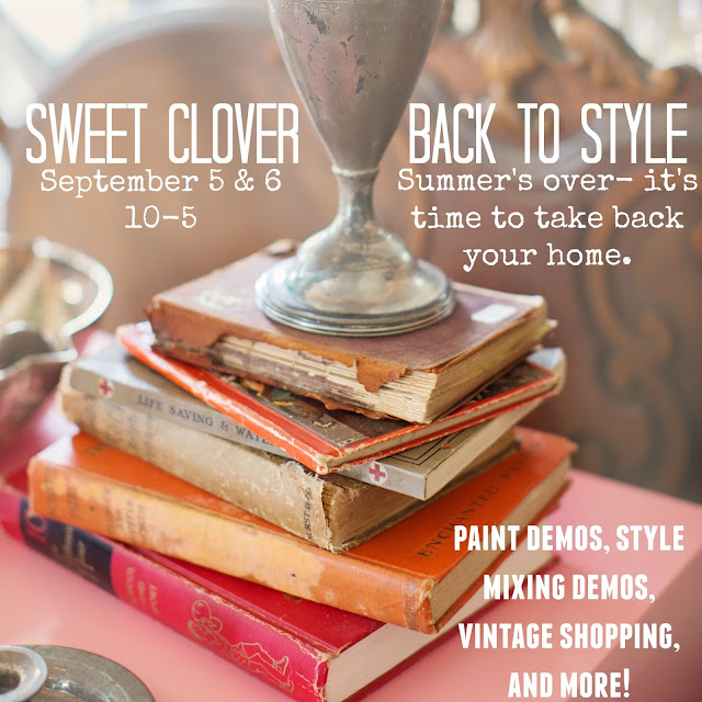 "Sweet Clover ""Back to Style"" Event"