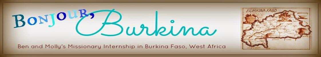Bonjour, Burkina
