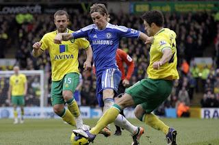 Chelsea no pudo de visitante con el modesto Norwich