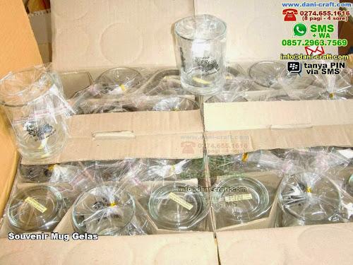 Souvenir Mug Gelas Gelas Kaca Palembang