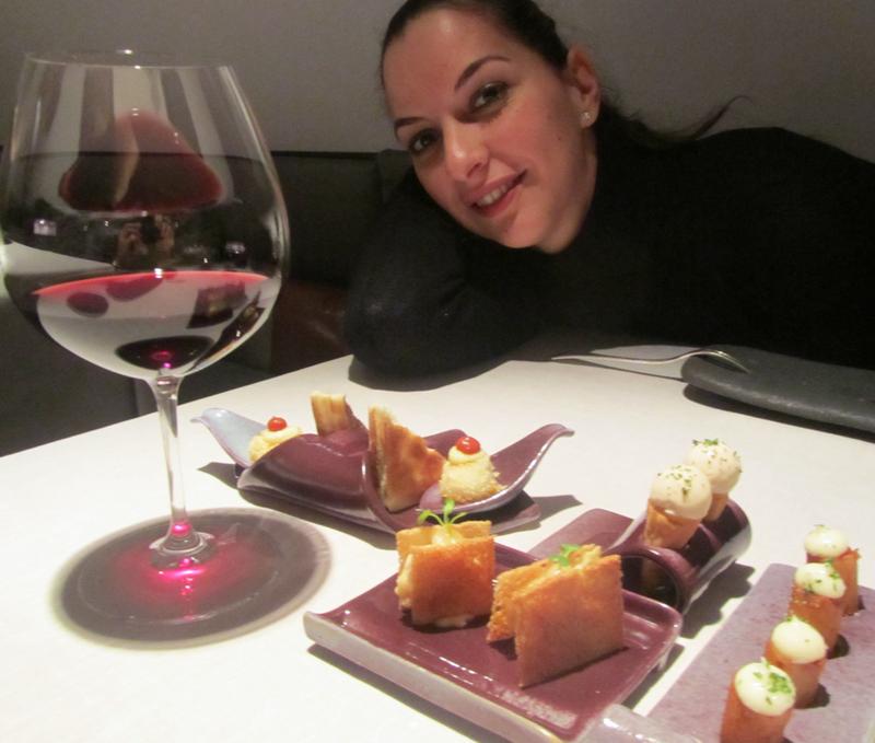 Urbina vinos blog restaurante sergi arola gastro en madrid - Restaurante sergi arola madrid ...
