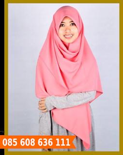 hijab segi empat kantor