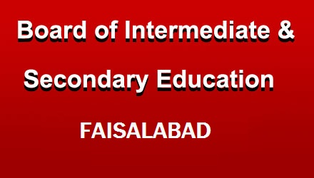 Board of Intermediate & Secondary education result