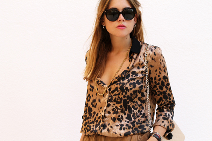 Leopard and suede