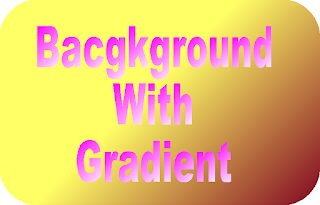 Tampilan Background Gradient