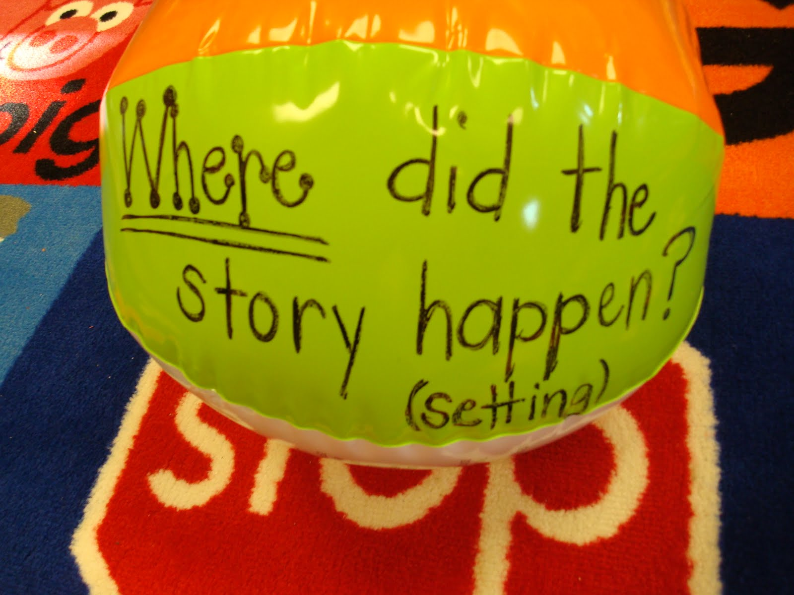 Mrs. Newberry\'s Nook: Beach Ball Reading Comprehension