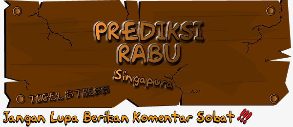 PREDIKSI TOGEL SINGAPURA RABU