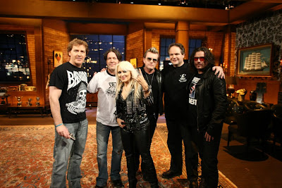 Eddie Trunk, Don Jamieson, Jim Florentine of That Metal Show with The Cult and Doro Pesch