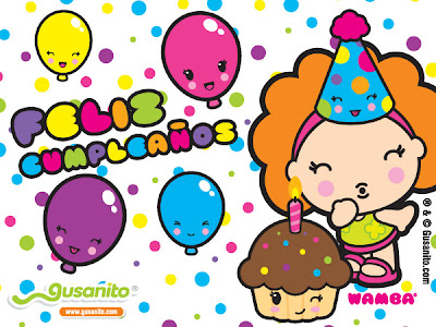 beso feliz cumpleaños
