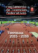 Reglamento de Licencias 2015/16