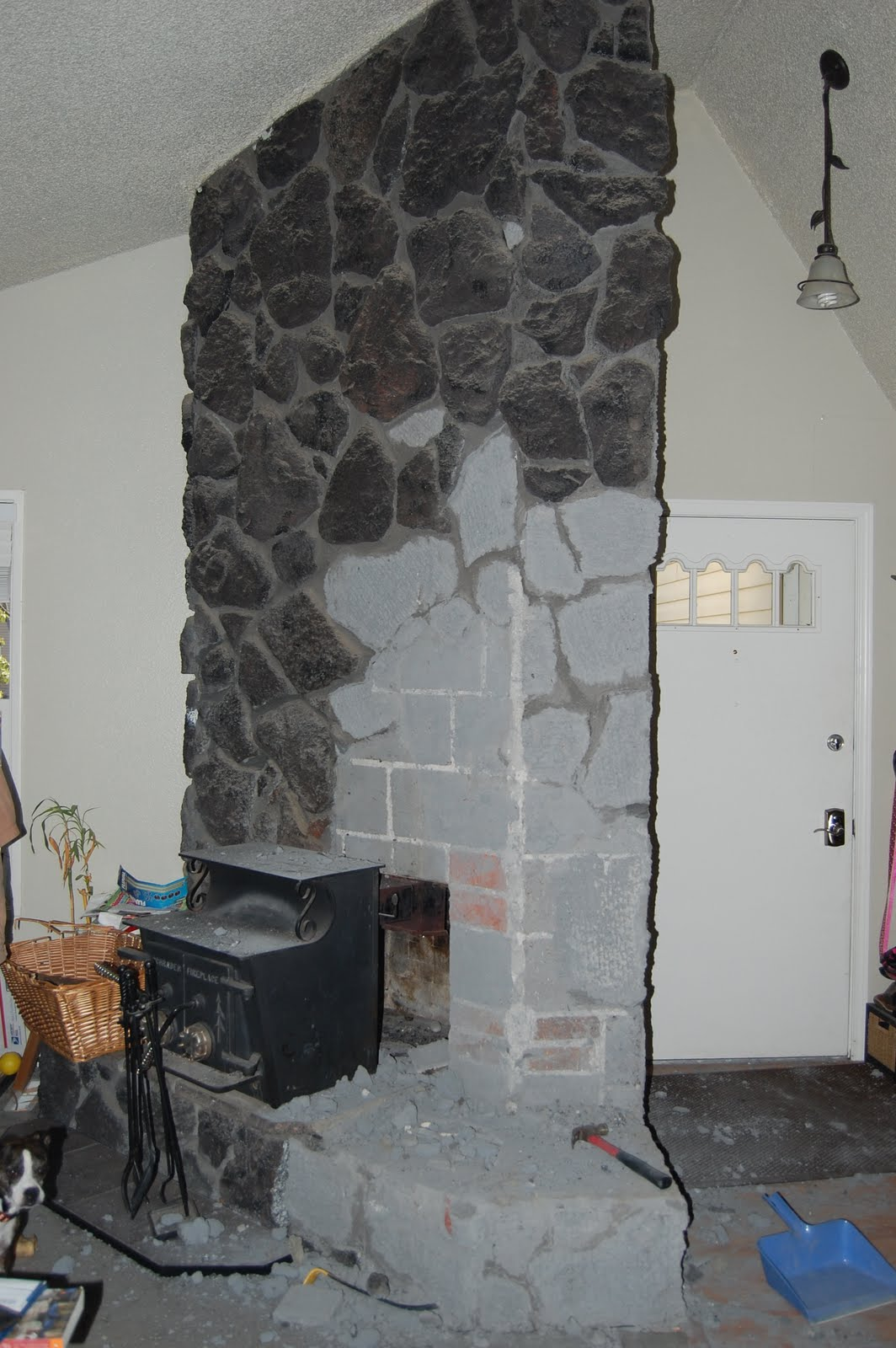 new beginnings fireplace remodel