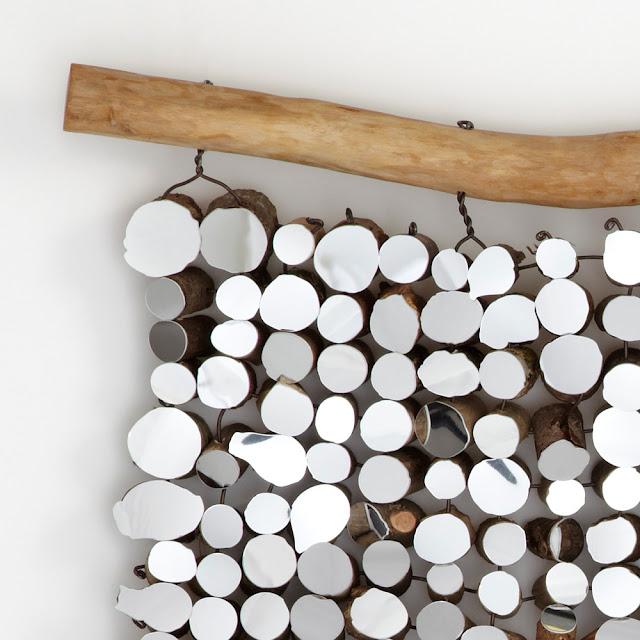 Licht-bringende Wanddeko zum Selbermachen