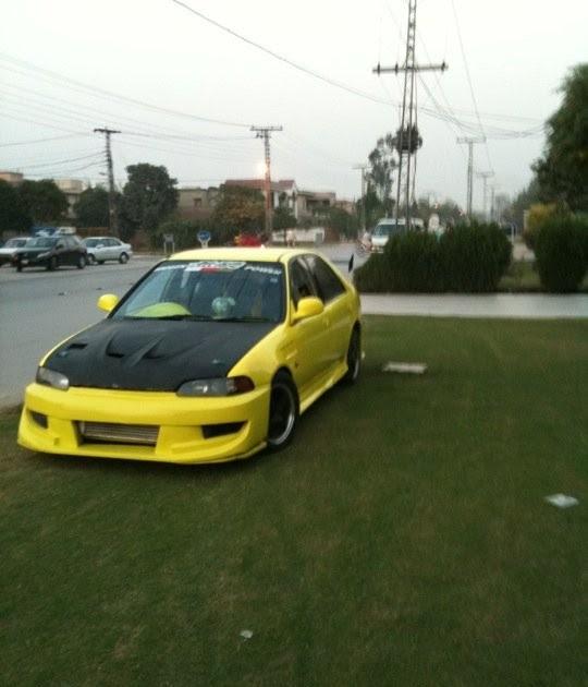 honda civic 1995 fully midified sports amp modified cars