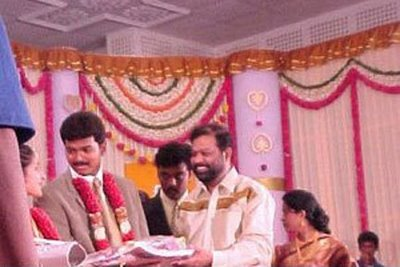 Vijay's wedding