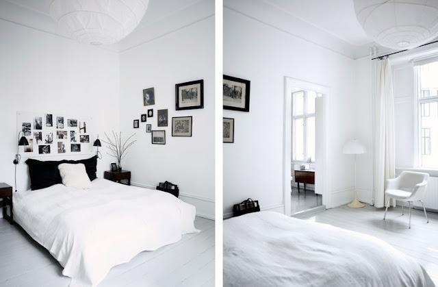 Inspiraci n n rdica una casa con tres suelos de madera diferentes espacios en madera - Suelo parquet blanco ...
