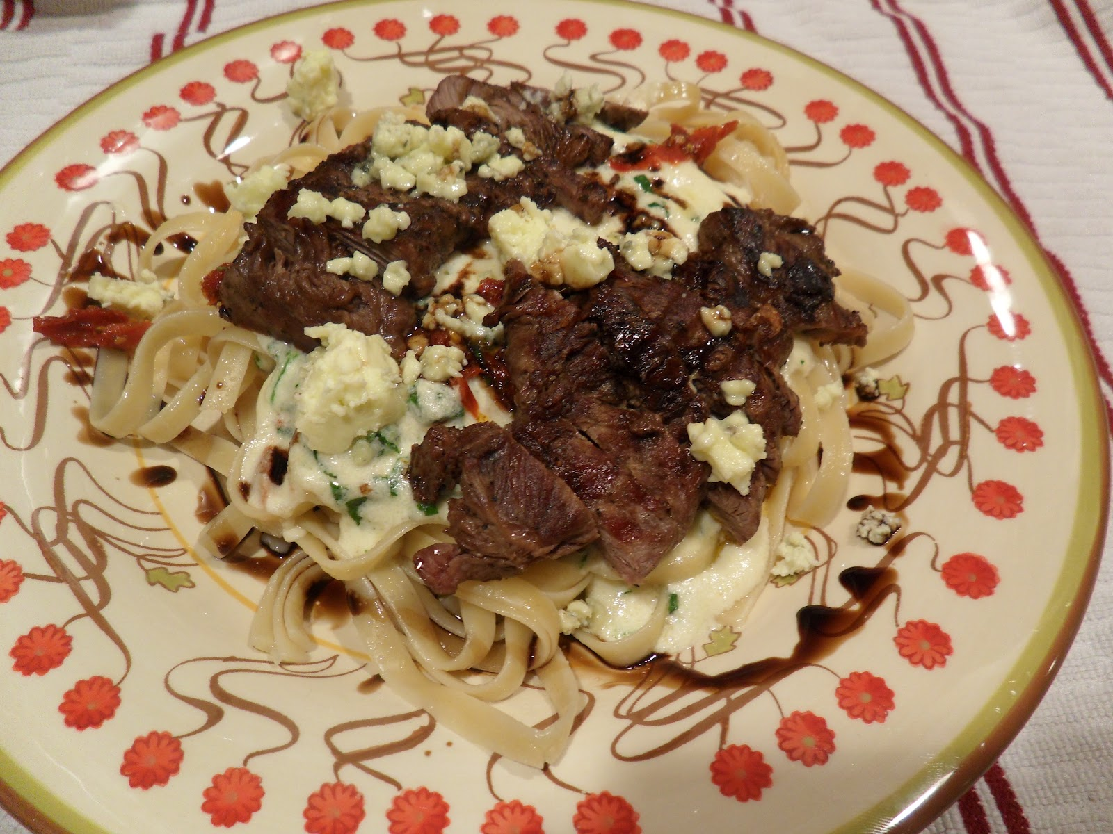 Made To Order Steak Gorgonzola Alfredo Olive Garden Copy Cat Recipe