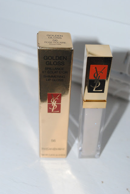 YSL Christmas 2012 Golden Gloss 56 Polar Pink