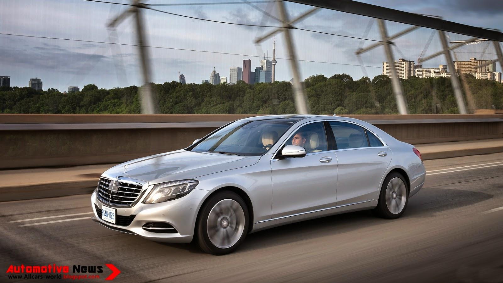 Automotive news 2014 mercedes benz s class review for 2014 mercedes benz s550