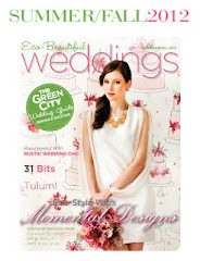 Featured in the Summer/Fall issue of Eco-Beautiful Weddings