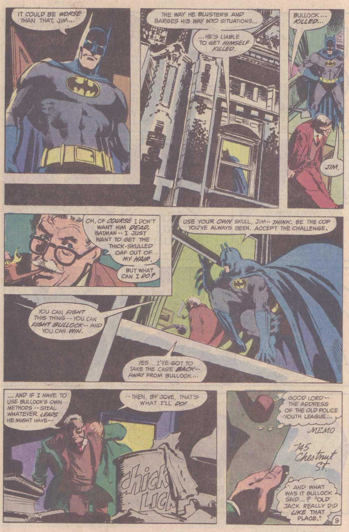 Detective Comics (1937) Issue #528 Page 11