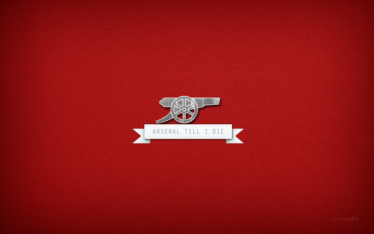 Arsenal FC Logo - Arsenal Till I Die Wallpapers