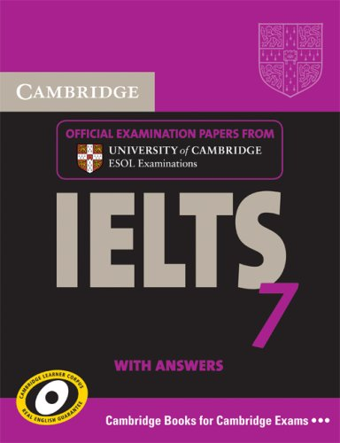 Cambridge IELTS 7 Student Book with answers