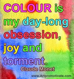 Claude Monet art quote