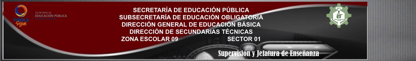 Supervisión 09 Esc. Sec. Técnicas. Puebla