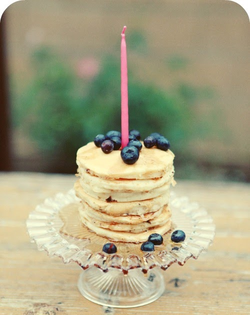 Pancake Tower Birthday Cakes