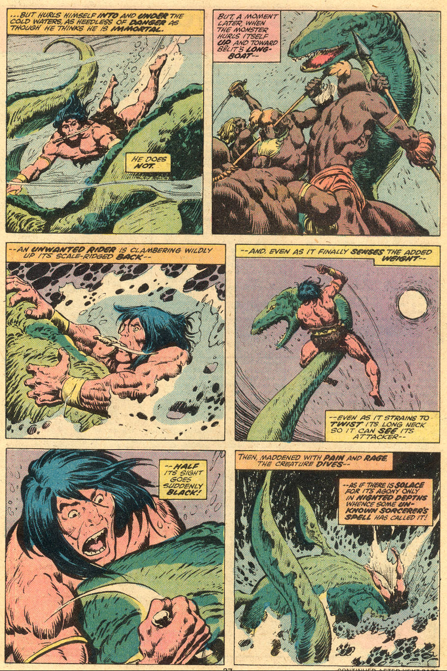 Conan the Barbarian (1970) Issue #74 #86 - English 15
