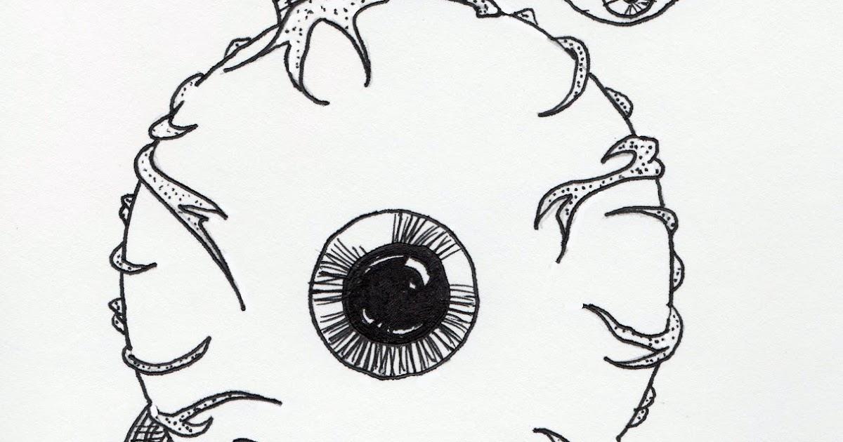 Jared Unzipped Draw Something Floating Eyeball Monster