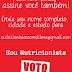 Nutricionistas com Dilma 13