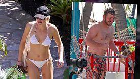 Chris Pratt et Anna Faris en vacances à Maui