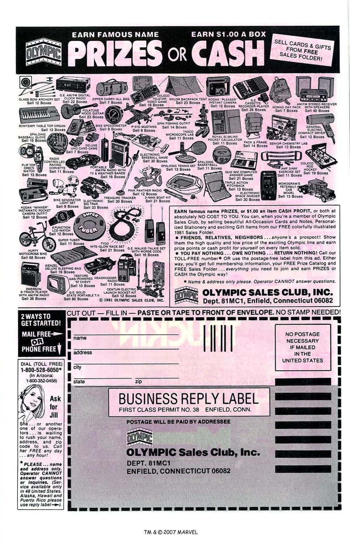 Captain America (1968) Issue #256 #171 - English 35