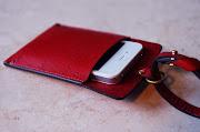 iphoneケース+ミニベルト。 iphone4用ですが、余裕をもって作っています .