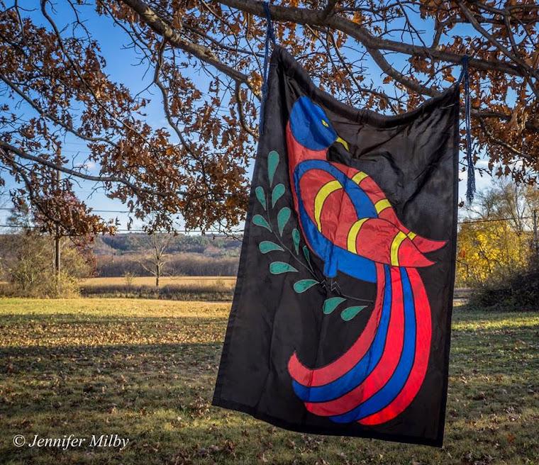 Distelfink Banner