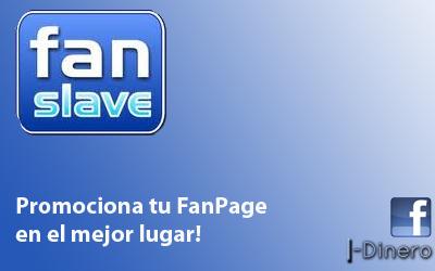 Promociona tu FanPage con FanSlave