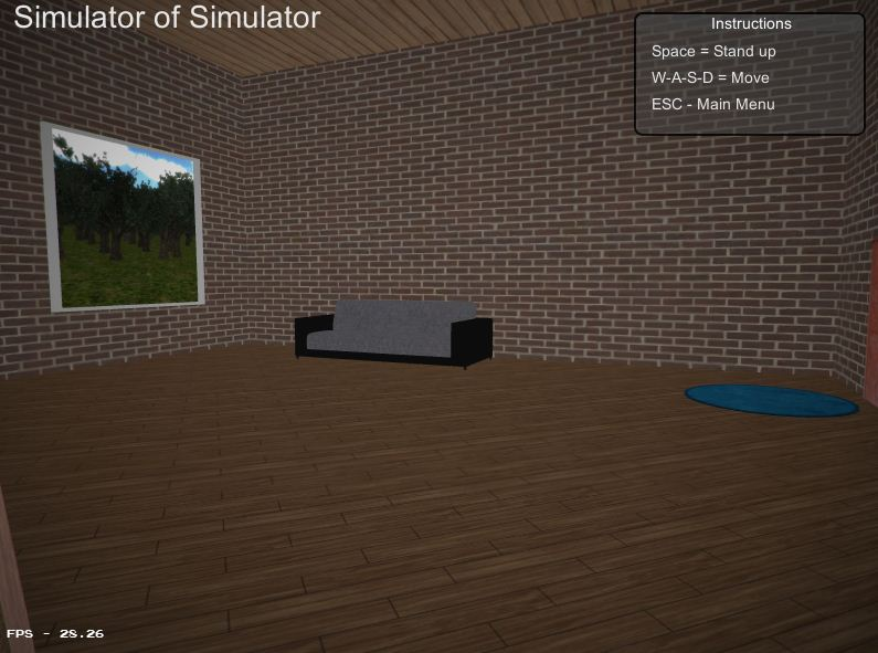 Download Game Simulator of Simulator, Mainkan Game Simulator di Dalam Game Simulator