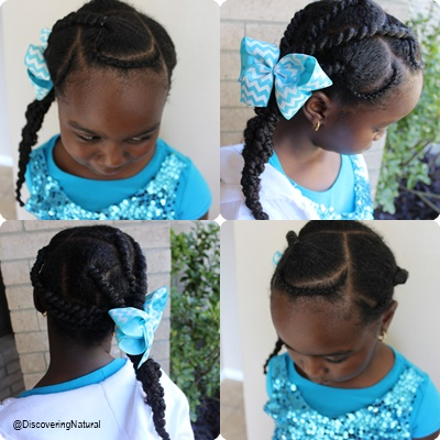 Discoveringnatural Threading And Cornrow Hairstyle