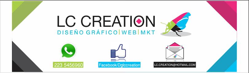 LC Creation // Diseño gráfico / Web / Mkt