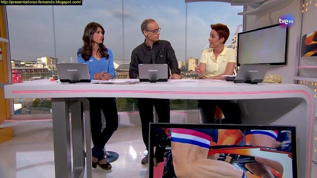Marta Solano y Lourdes Garcia Campos Londres en Juego