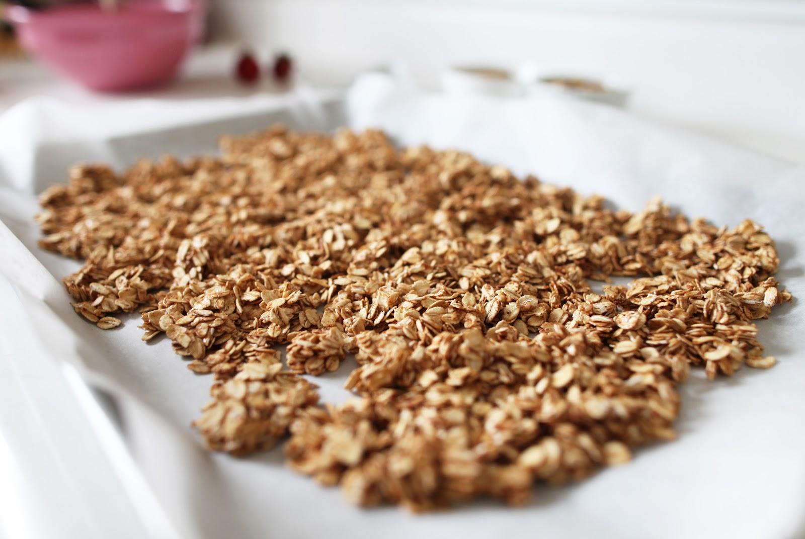 Homemade granola {gluten free}
