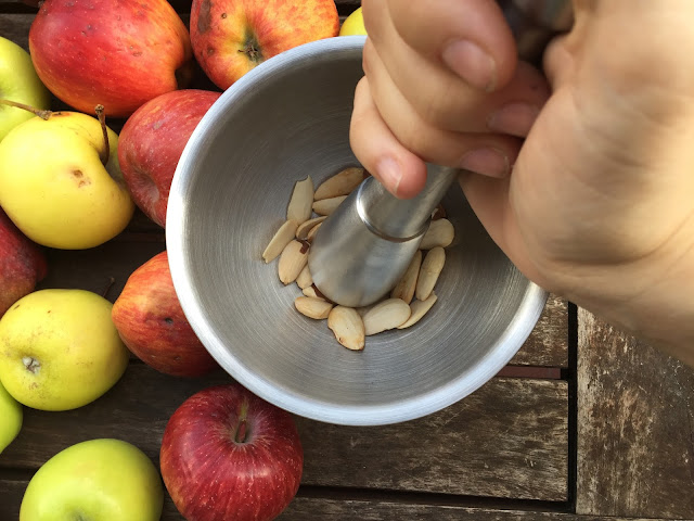 receta-de-otoño-de-crumble-de-manzana