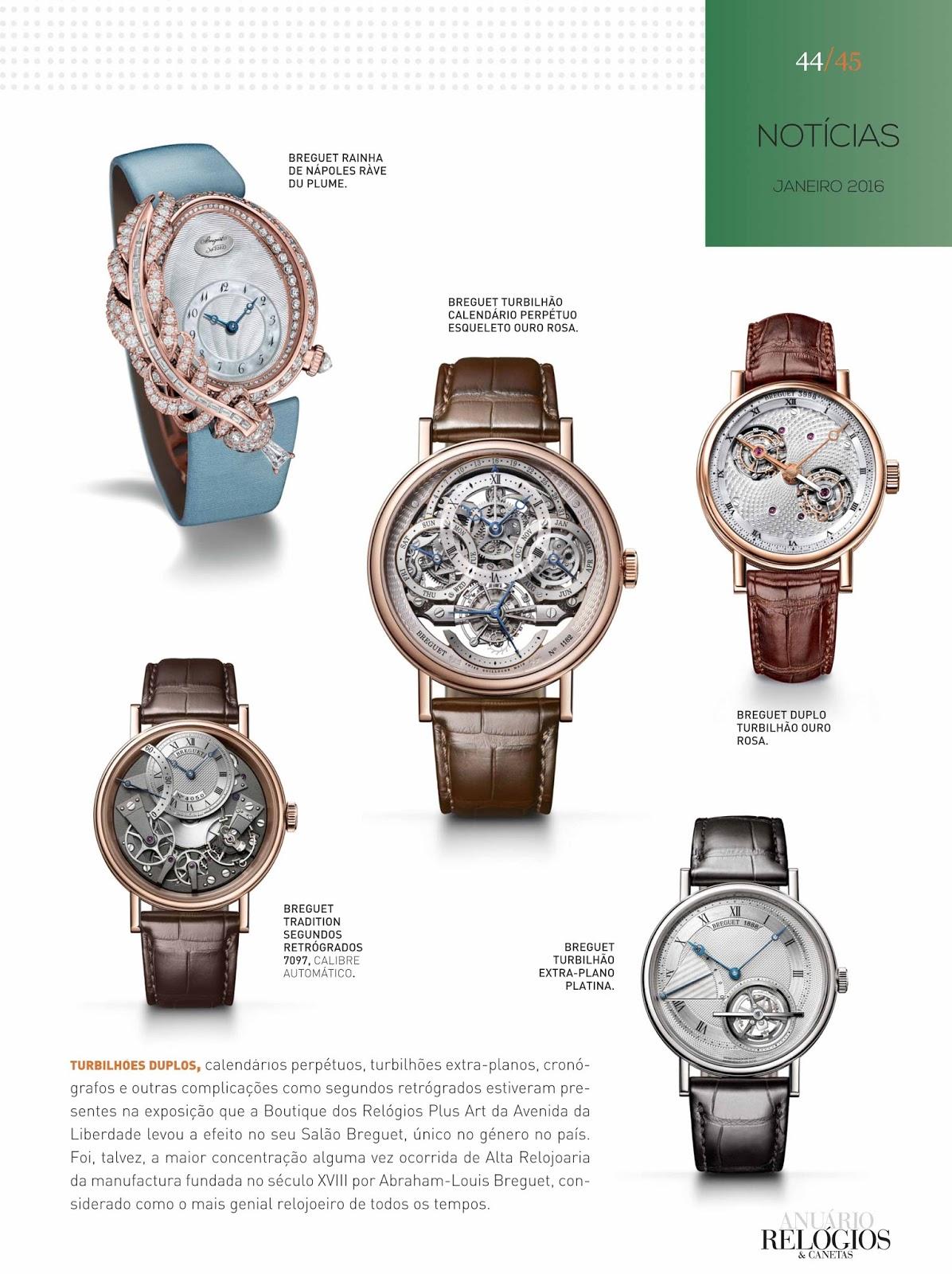 68a5d4c3daa ... do Relógios   Canetas online. Começámos o ano com um recorde - são 179  páginas inteiramente dedicadas à alta relojoaria