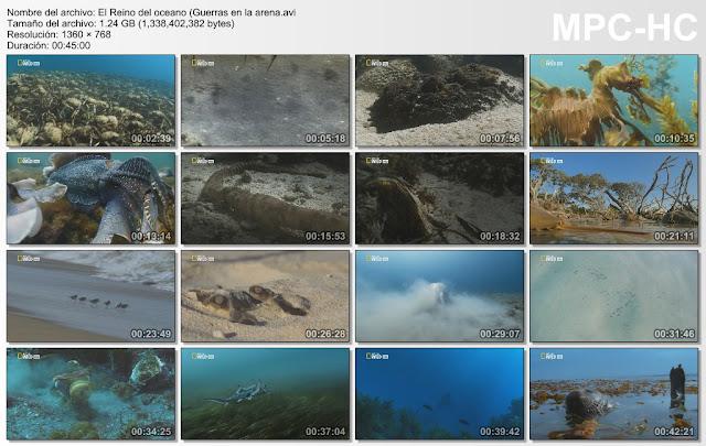 NATGEO HD|El reino del Oceano|4/4|760p|5GB|MEGA|