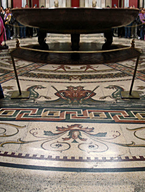 sistine chapel floor design