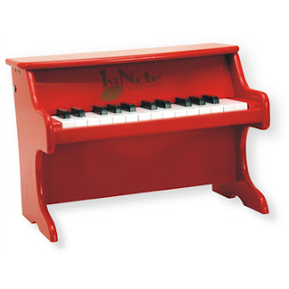 Red Toy Piano