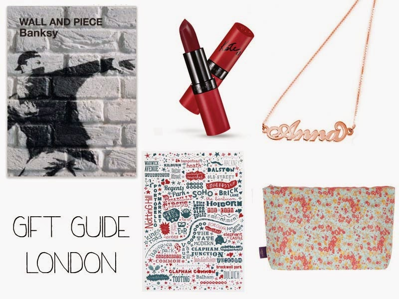 london christmas gift guide