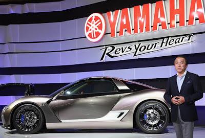 Yamaha'nın ilk otomobili sahneye çıktı
