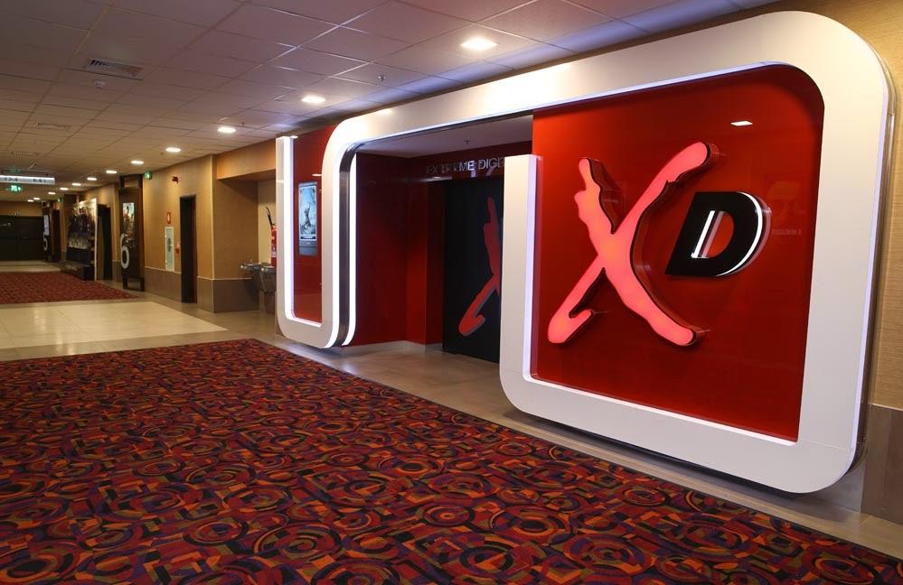cinemark xd conferimos a primeira sala extreme digital